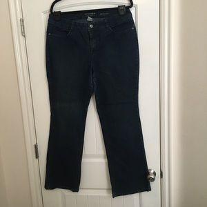 Sonoma Original Boot Size 16 AVG Blue Denim Jeans